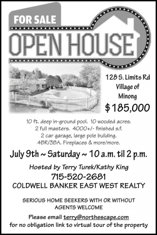 FOR SALE OPEN HOUSE