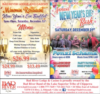 Annual New Year's Eve Bash