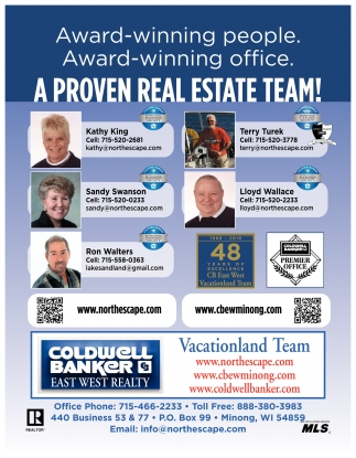 A PROVEN REAL ESTATE TEAM!