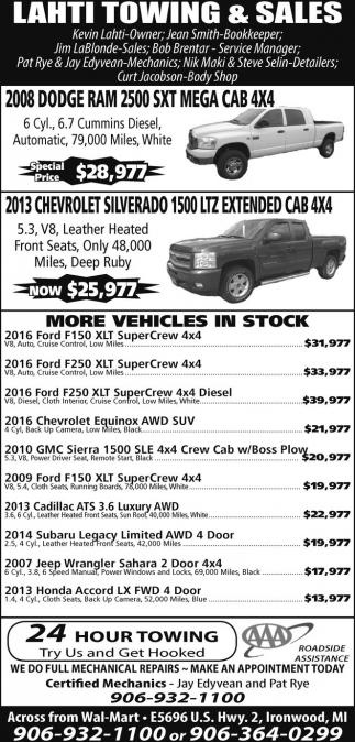 Dodge, Chevrolet