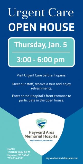 Urgent Care Open House