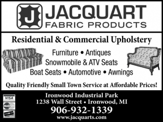 Residential and Commercial Upholstery