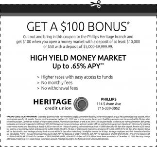 Get a $100 Bonus*