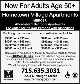 Now For Adults Age 50+