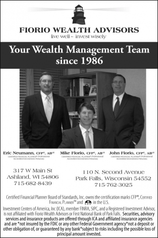 Your Wealth Management Team since 1986