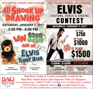 Elvis Costume, Dance & Singing Contest
