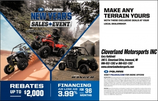 PolarisNew Years Sales Event
