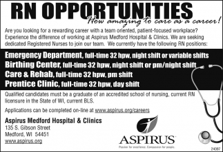 RN Opportunities