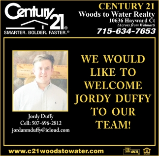 Welcome Jordy Duffy