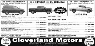 Toyota, Chevrolet, Dodge