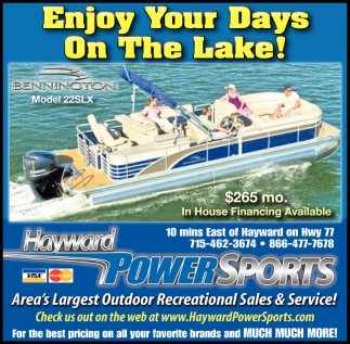 Enjoy Your Days On The Lake!