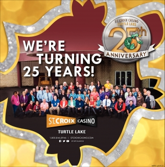 We're turning 25 years!