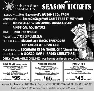 2017 Season Tickets