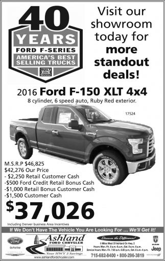 40 years Ford F-Series