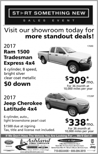 Start Something New Sales Evet