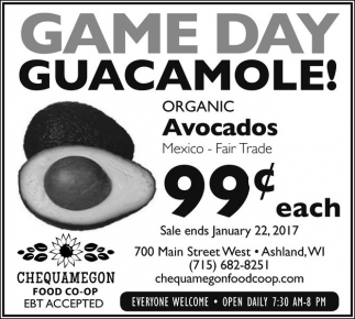 Game Day Guacamole!