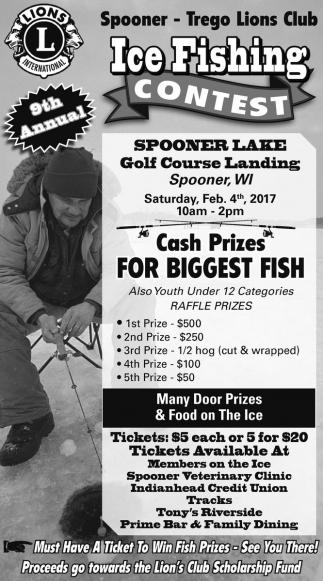 Ice Fishing Contest
