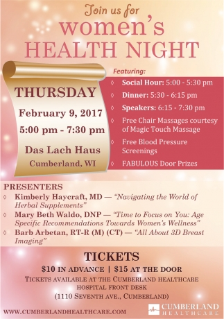 Women's Health Night