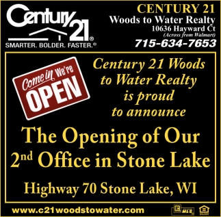 The Opening of Our 2nd Office in Stone Lake