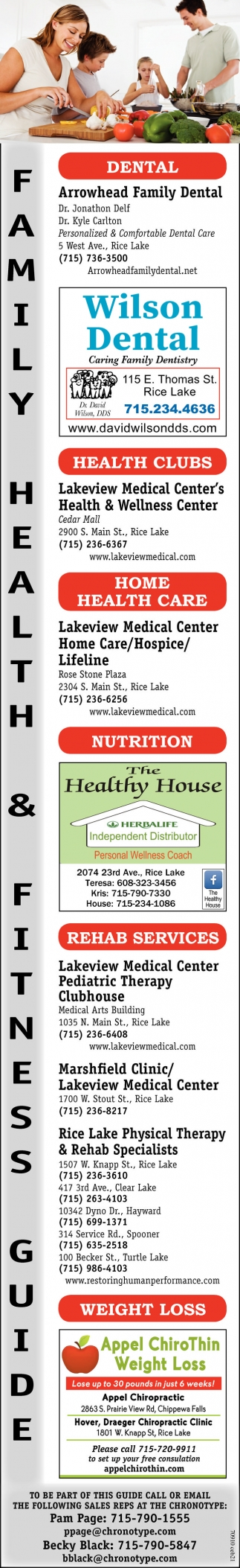 Family Health & Fitness Guide