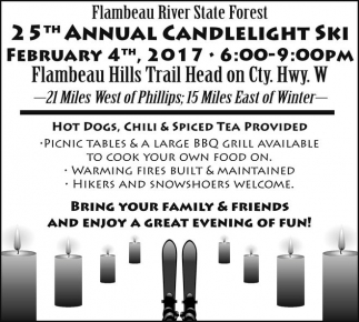 25th Annual Candlelight Ski