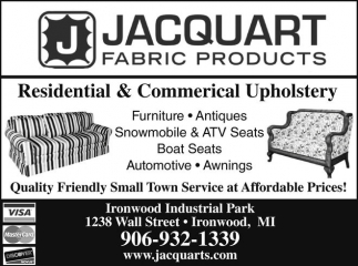 Residential & Commercial Upholstery