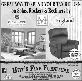 Great Way to Spend your tax return