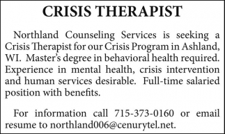 Crisis Therapist