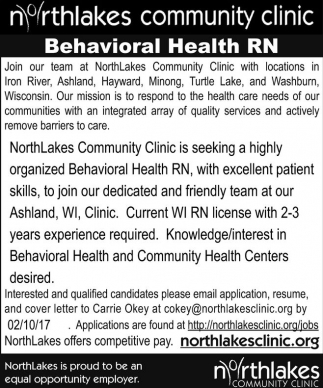 Behavioral Health RN