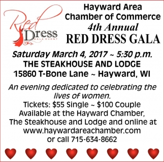 4th Annual Red Dress Gala