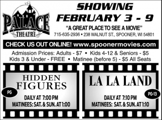 Showing February 3 - 9