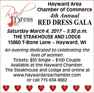 4th Annual Red Dress Gala
