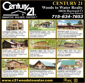 The Opening Of Our 2nd Office In Stone Lake, Century 21 Woods To Water  Realty, Hayward, WI