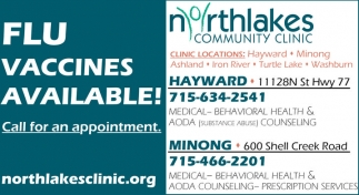 Flu Vaccines Available!