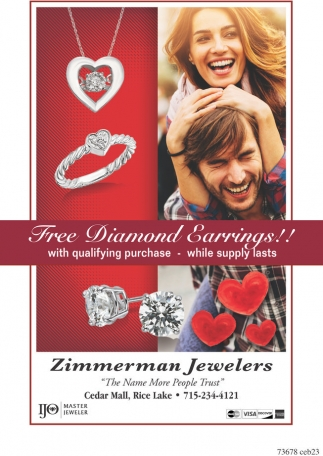 Free Diamond Earrings!!