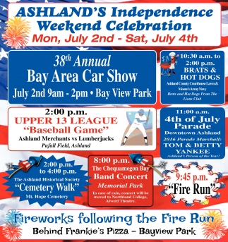 Ashland's Independence Weekend Celebration