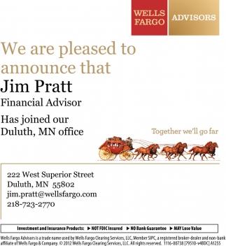 jim pratt wells fargo advisors