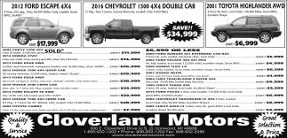 Ford, Chevrolet, Toyota