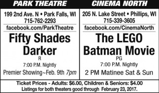 Fifty Shades Darker - The LEGO Batman Movie