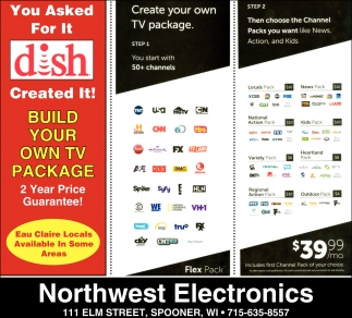Build Your Own TV Package