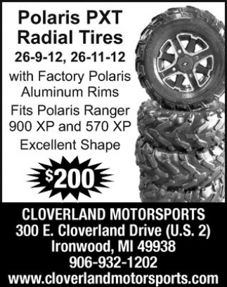 Polaris PXT Radial Tires