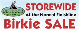 Storewide Birkie Sale