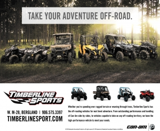 TAKE YOUR ADVENTURE OFF-ROAD