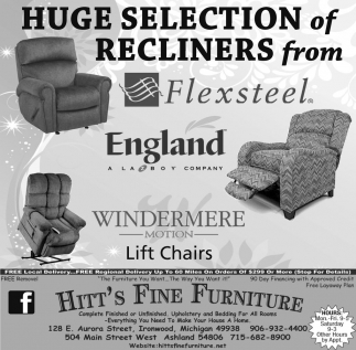 Huge Selection of Recliners from Flexsteel