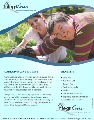 Caregiving at its best