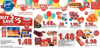 Celebrating 51 years of serving our local communities!