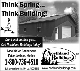 Think Spring... Think Building!