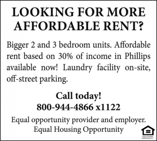 Affordable Rent
