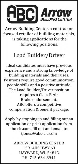 Load Builder/Drive