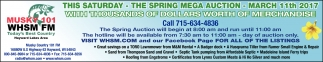 The Spring Mega Auction